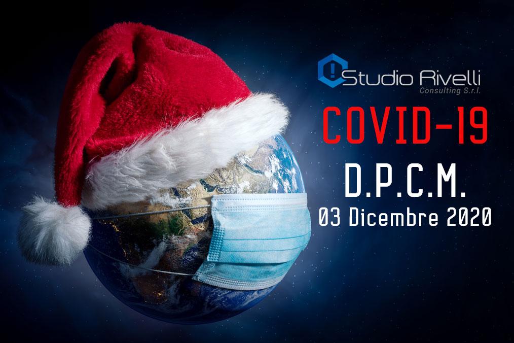 COVID-19 D.P.C.M. 03 Dicembre 2020